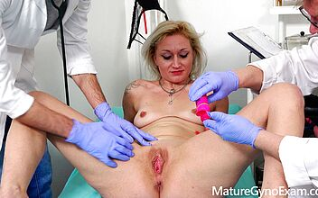 Gyno exam pics Mature Gyno Exam Young Medic Training By The Skilled Gyno Doctor On A Slutty Whore By Mature Gyno Exam Faphouse